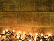 Contesto di Natale per gli annunci del bordo fotografie stock libere da diritti
