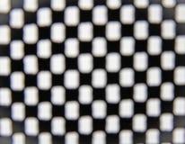 Contesto di scacchi del fuoco della sfuocatura Fotografia Stock