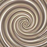 Contesto di turbine Colore di superficie a spirale del dado Fotografia Stock