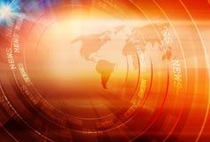 Contesto digitale moderno grafico di notizie illustrazione vettoriale