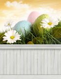 Contesto felice del fondo della primavera di Pasqua Immagine Stock Libera da Diritti