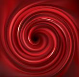 Contesto rosso di turbine di vettore Succo dei frutti rossi Immagini Stock Libere da Diritti