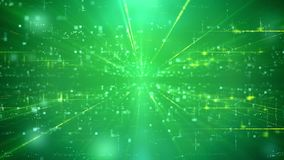 Contesto vago di verde di tecnologia Fotografia Stock
