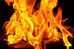 Contexte d'incendie Photos stock