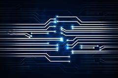 Contexte de circuit de Digital Image libre de droits