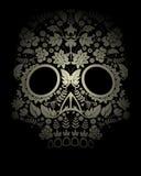 Contexte de crâne illustration stock