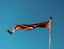Contexte de ondulation de drapeau de la Norvège Photo libre de droits