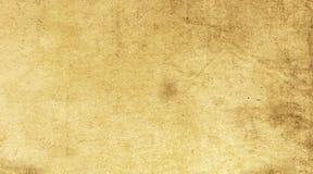 Contexte de papier âgé et jauni Photo libre de droits
