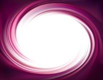 Contexte de tourbillonnement de vecteur Surface lilas liquide en spirale Photographie stock libre de droits
