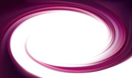 Contexte de tourbillonnement de vecteur Surface lilas liquide en spirale Photos stock