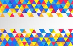 Contexte géométrique coloré abstrait Papier peint lumineux de mosaïque Descripteur créateur de conception Fond matériel pour le s illustration libre de droits
