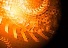 Contexte grunge lumineux de vecteur avec les flèches 3d Photo libre de droits