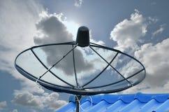 Contexte satellite de nuage image libre de droits
