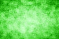 Contexte vert abstrait chanceux de tache floue Images stock