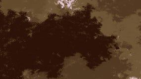 Contextes de forme d'aquarelle de Brown E Contexte coloré images libres de droits