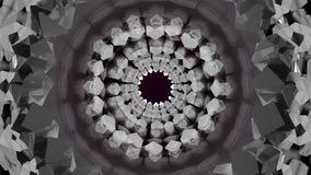 Contexto abstracto Cubos del fondo del fractal Imagen de archivo libre de regalías