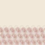 Contexto abstracto Plantilla beige del diseño de la bandera Fotografía de archivo