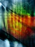 Contexto abstrato do código fotografia de stock