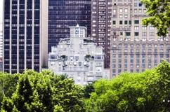 Contexto al Central Park Fotografía de archivo