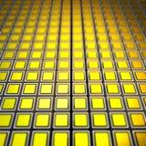 Contexto amarelo Imagem de Stock