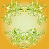 Contexto amarelo para o texto Imagens de Stock Royalty Free