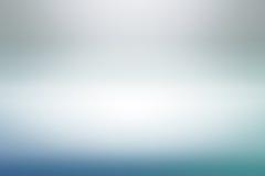 Contexto blanco azul vacío del estudio, extracto, fondo gris de la pendiente, color del vintage Foto de archivo libre de regalías
