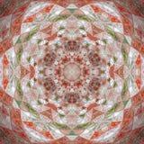 Contexto colorido abstracto del círculo Modelo redondo del triángulo del mosaico Fotos de archivo