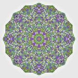 Contexto colorido abstracto del círculo. Vecto geométrico stock de ilustración