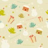 Contexto colorido del modelo de la nieve Fotos de archivo libres de regalías