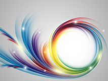Contexto colorido do arco-íris do vetor Imagem de Stock