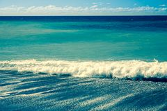 Contexto da onda de oceano Fotos de Stock Royalty Free