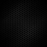 Contexto de aço metálico abstrato do fundo da textura do teste padrão do projeto do hexágono ilustração stock