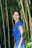 Contexto de bambú Foto de archivo