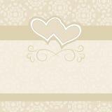 Contexto de la boda para las invitaciones de la boda Imagen de archivo