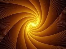 Contexto de la explosión del fractal ilustración del vector