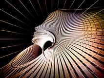 Contexto de la geometría del alma Foto de archivo libre de regalías