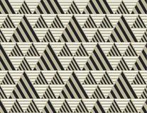 Contexto de la geometría del triángulo con las rayas Fotos de archivo