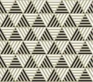 Contexto de la geometría del triángulo con las rayas para el web y la impresión Imágenes de archivo libres de regalías