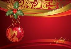 Contexto de la Navidad Imagen de archivo libre de regalías