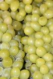 Contexto de la uva verde, pila de muchos uva Es una baya, se pone verde típicamente clasificado como blanco, púrpura, rojo, o neg fotografía de archivo libre de regalías