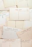 Contexto de las postales del vintage Fotos de archivo