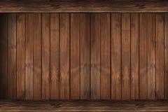 Contexto de madeira da parede Imagens de Stock