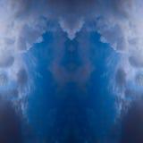 Contexto de nubes Imagen de archivo libre de regalías