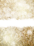 Contexto de oro de la Navidad EPS 10 Fotos de archivo libres de regalías