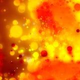 Contexto decorativo abstracto de las luces Fotos de archivo libres de regalías