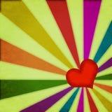 Contexto del amor y del corazón stock de ilustración