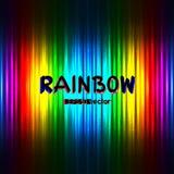 Contexto del color del arco iris con el texto ilustración del vector