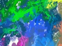 Contexto del color del arte abstracto (papel pintado). Fotos de archivo