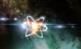 Contexto del concepto de la astronomía Imagenes de archivo