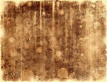 Contexto del grunge de la sepia Foto de archivo libre de regalías